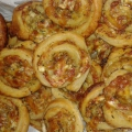 Бутер охлювчета с пица плънка