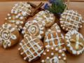 Медени бисквити с бадеми