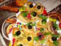 Празнични бутер кошнички с различни форми и вкусна плънка