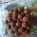Медени сладки с овесени ядки