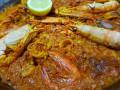 Ориз със скариди и зеленчуци
