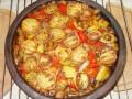 Сач от гриловани зеленчуци