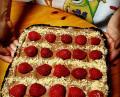 Новогодишен шоколадов тарт с ягоди