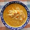 Оризова чорба с праз, лук и моркови