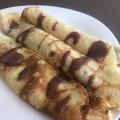 Френски палачинки с шоколад
