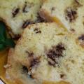 Кекс с праскови и вафли Боровец
