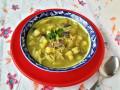 Картофена супа с гъби и тиквички