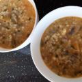 Лесна супа с гъби и ориз
