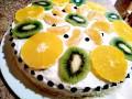 Плодова торта за два часа