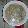 Супа от свински крака, уши и джолан