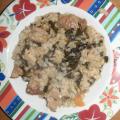 Лапад с ориз на фурна