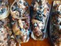 Ладийки от патладжан с кайма и зеленчуци