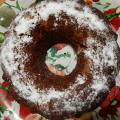 Пухкав кекс с домашно сладко от сливи