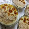 Сладък крем с мляко и петмез