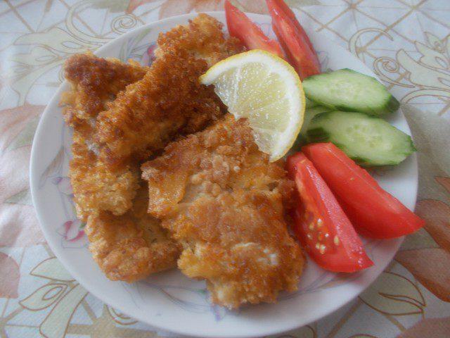 Панирано рибно филе