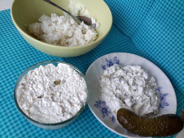 Ориз с кисели краставички