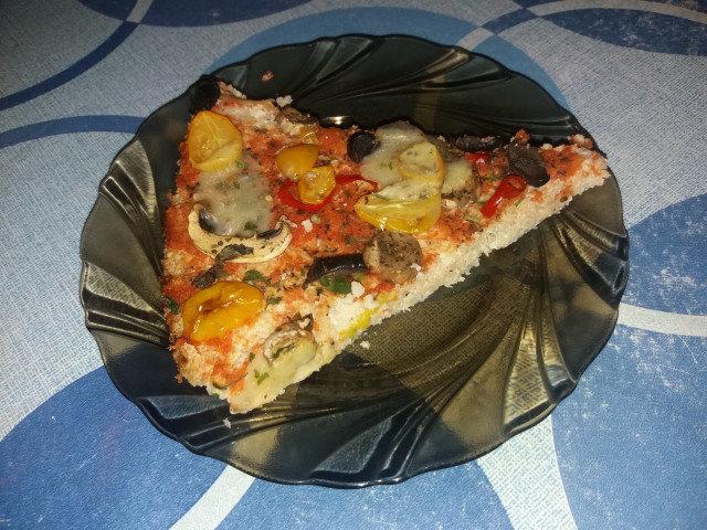 Постна пица от карфиол