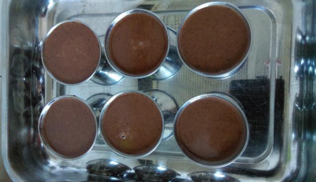 Панакота с шоколад