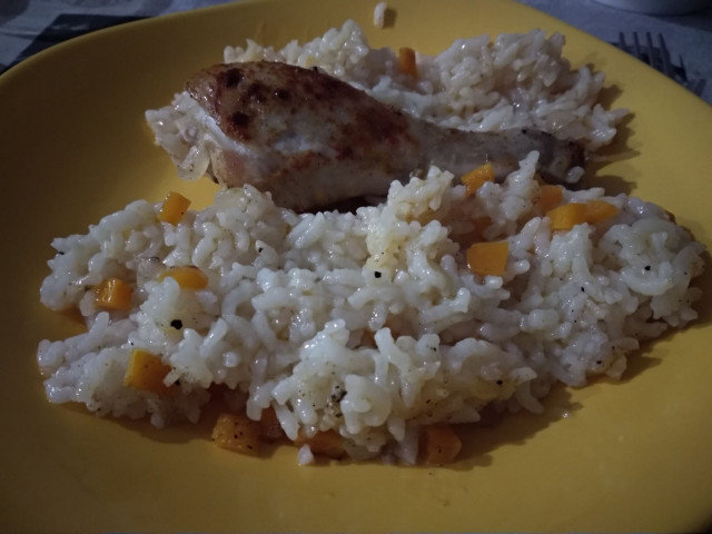 Моето вкусно пиле с ориз