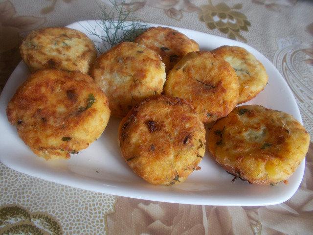 Картофени кюфтета от настъргани картофи