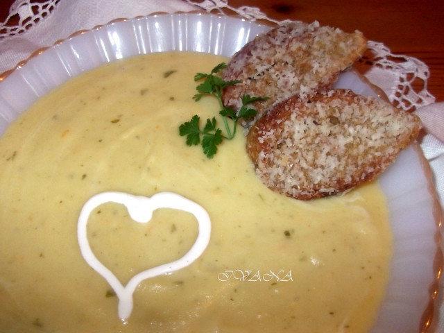 Френска картофена супа