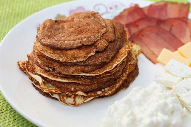 Солени палачинки без брашно