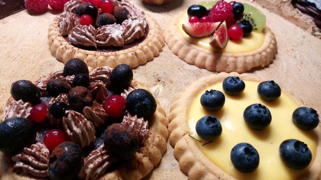 Tарталети с боровинки и малини - Ivi  Vacca