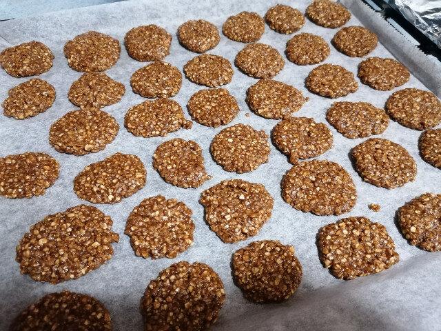 Какаови сладки с овесени ядки