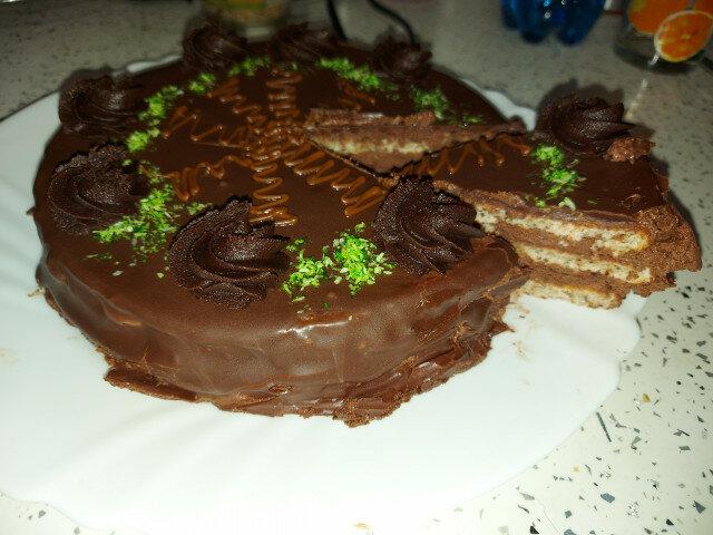 Оригинална торта Гараш от 1885 г.