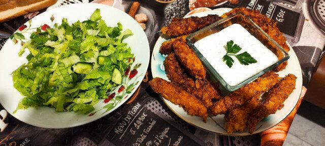 Пикантно-хрупкаво пилешко филе