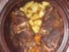 Свински крачета в гювеч с картофи и моркови - Стоянка  Русенова
